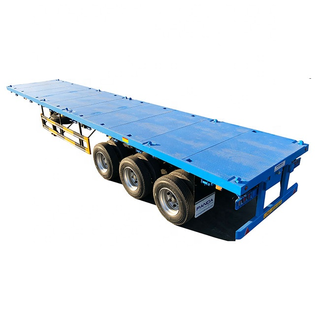 Flatbed For Sale >> Panda 3 Axle 20ft 40ft Flatbed Trailer For Sale Philippines Buy Flatbed Trailer Flatbed Trailer For Sale Philippines 40ft Flatbed Trailer Product On