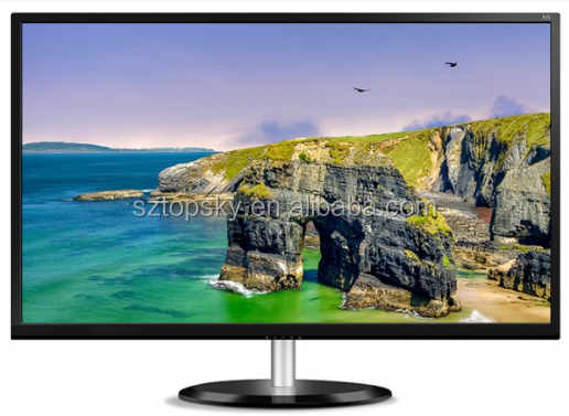 "24"" LED monitor, Full HD, VGA, DVI, Audio, Metal"