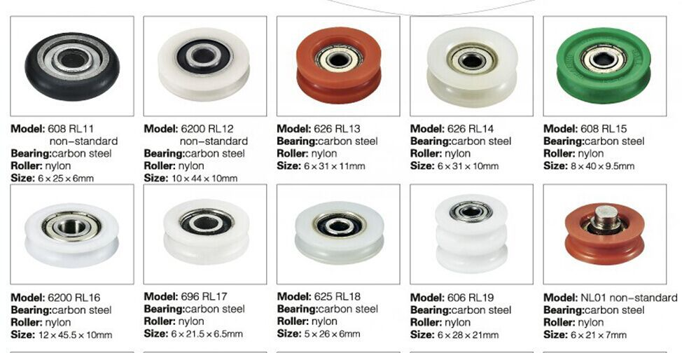 High Performance Concave Guide Rollers Buy High