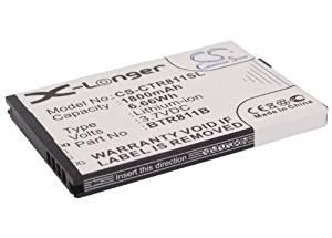 1800mAh Battery For Casio Commando 2, Commando 4G LTE, C811