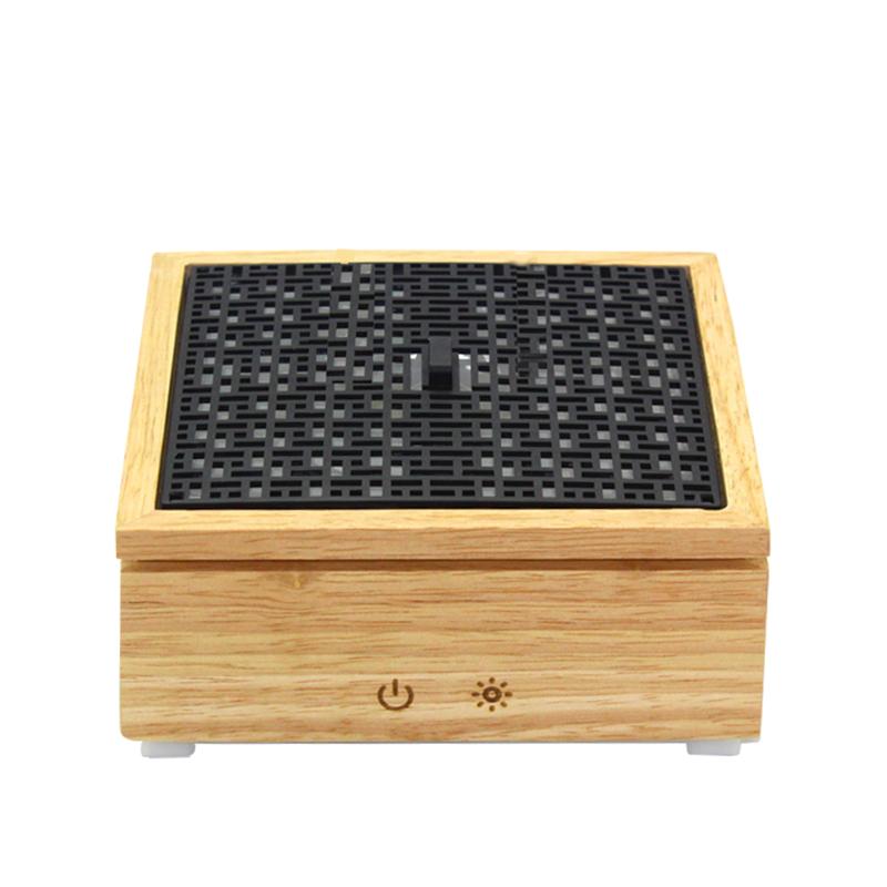 OEM LED אור עיצוב בית ארומה חיוני שמן עץ מפזר