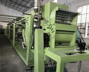 High performance second hand price baby diaper making machine