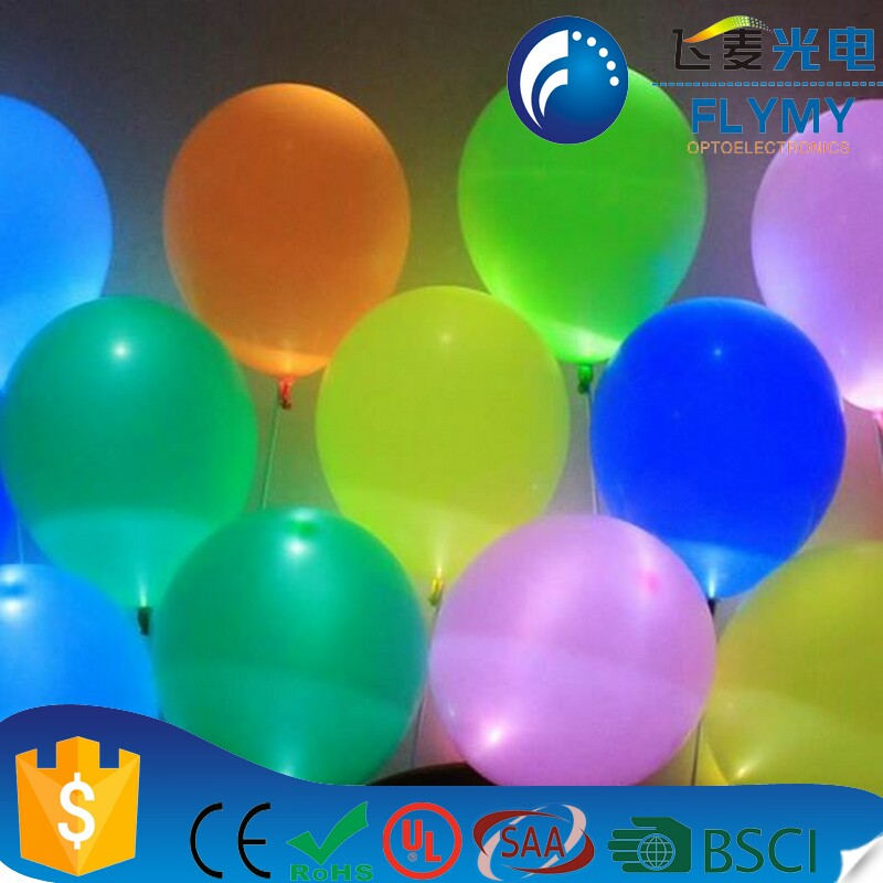 Trade Assurance new product led balloon string/lighting balloons/balloon light garland for party Christmas party