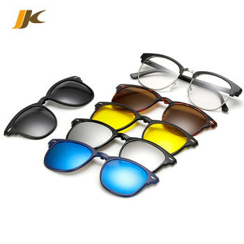9a8ce75cdf Pc Magnetic Easy To Replace The Lens On Polarized Sunglasses Black ...