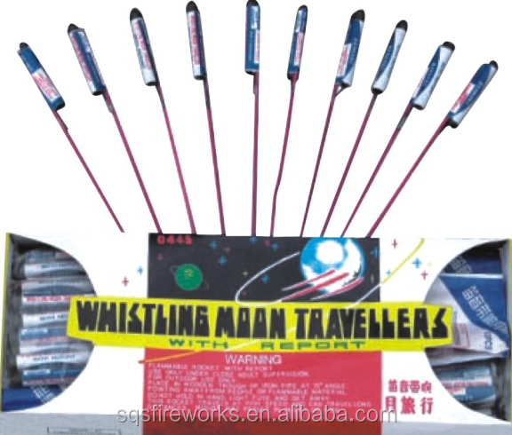 factory directly sale whistling moon travellers fireworks rockets