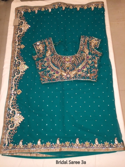 Latest Designer Bridal Saree