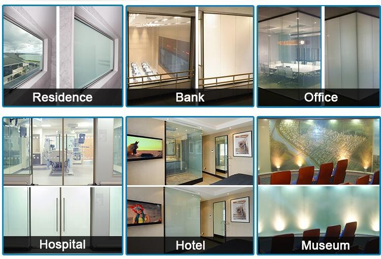 High technology switchable PDLC film, privacy film, Smart Glass Film