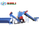 Waste used small scale plastic recycling plant pe pp film recycle washing line