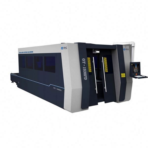 1530 500W 750w 1000w open type fiber laser cutting machine