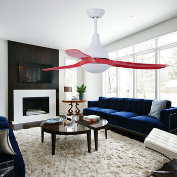 New Come Zhongshan Air Cooling No Noise Decorative Living Room Led Ceiling Air Cooling Fan with Light