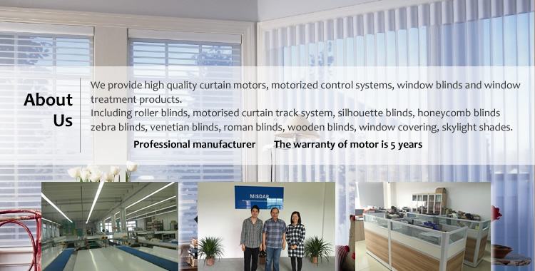 Wireless remote motorized roller blind smart home system electric roller blind waterproof automatic roller blind