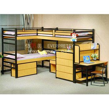 Stapelbed Voor 3 Kinderen.Goedkope Kids Stapelbed Voor Drie Kinderen Slaapzaal Meubels Tiener