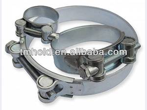 metal/carbon steel unitary cable rod clamps clips with bolt&nut for tubing automobile pipes