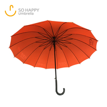 16K Specialized Fiberglass Frame Custom Straight fashion Umbrella Wholesale