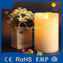 Flameless moving wick led flameless candle remote
