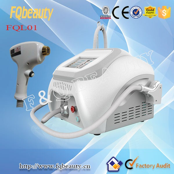 Safe and Effective 808 double semi conductor cooling diode laser permanent hair removal