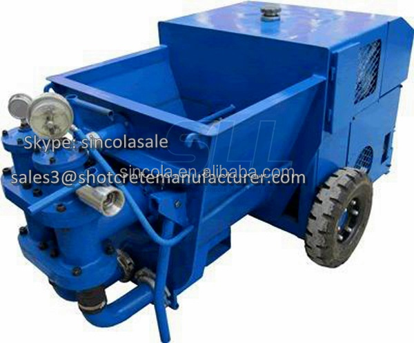 2015 Sincola 64 meter mortar mixer pump for sales