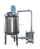 homogeneous concentrated fruit juice stainless steel suction -power mixing dispersing emulsifier machine pump mixer