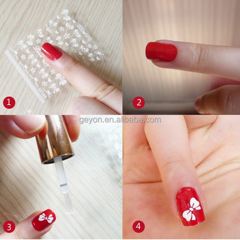 2015 New Style Nail Sticker For Nails Art Gel Polish Buy Gel