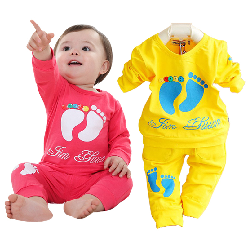 Promotion boy clothing set casual brand kids clothes long sleeve cotton children clothing wholesale price baby girls sport suit
