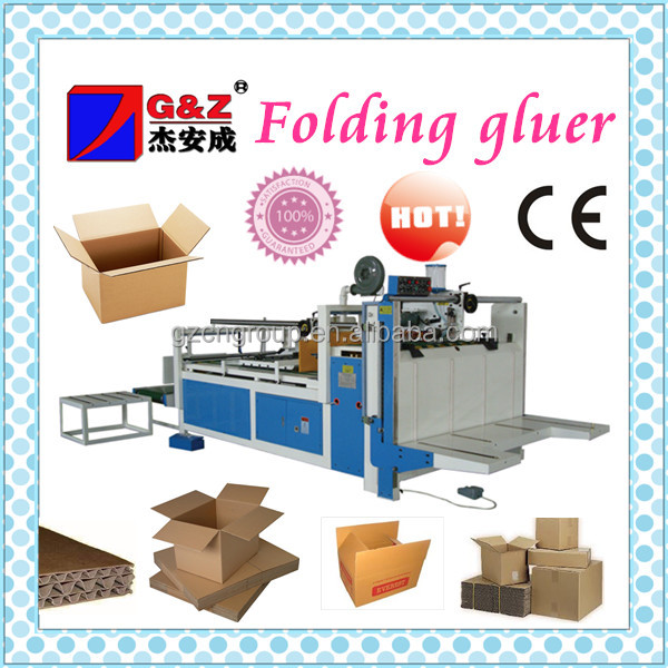 Europe machinery semi automatic flexo folder gluer machine