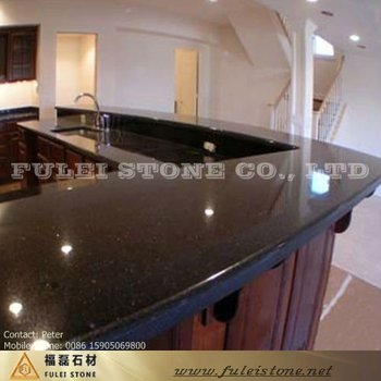 Stone Star Black Galaxy Granite Kitchen Countertop Buy Black
