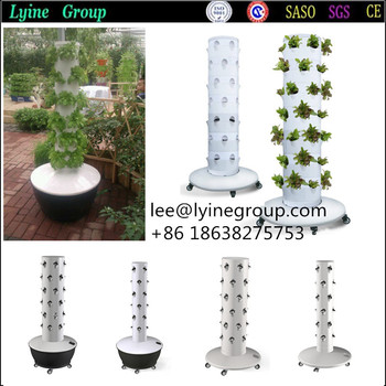 Vertical Soilness Hydroponics Tower Garden Growing System