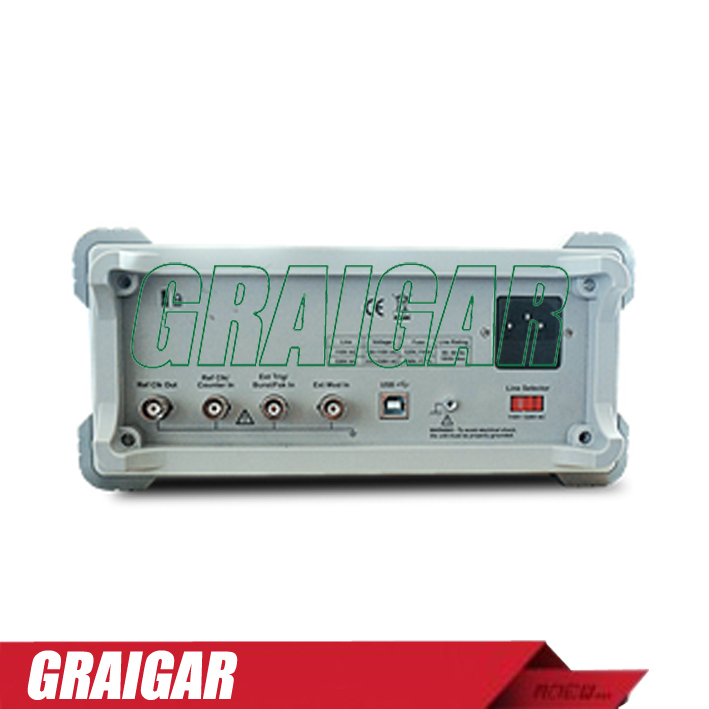 AG1012F Dual-channel Arbitrary Waveform Generator ,10MHZ Bandwidth,125MSa/S Sample Rate,8K pts Arb Wave Length