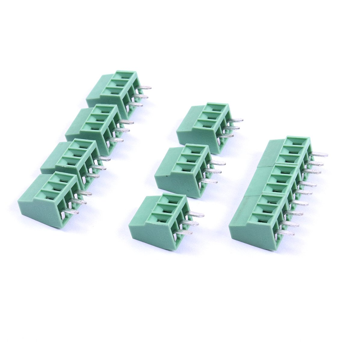 Cheap M8 3pin Screw Connector Find Deals On 3 Pin Wiring Diagram Get Quotations Atoplee 254mm 01 Pcb Universal Terminal Block 10