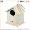 cheap handmade small wood crafts bird house model wholesale pet cages