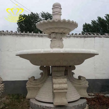 Hot sale customized natural marble garden fountain