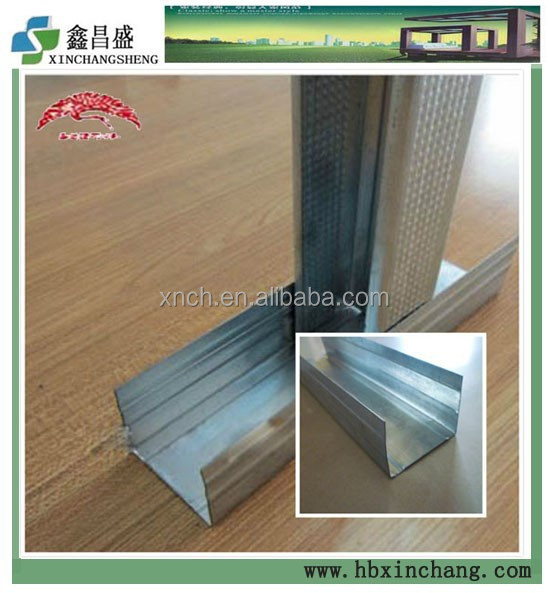 Light steel joist for drywall partition