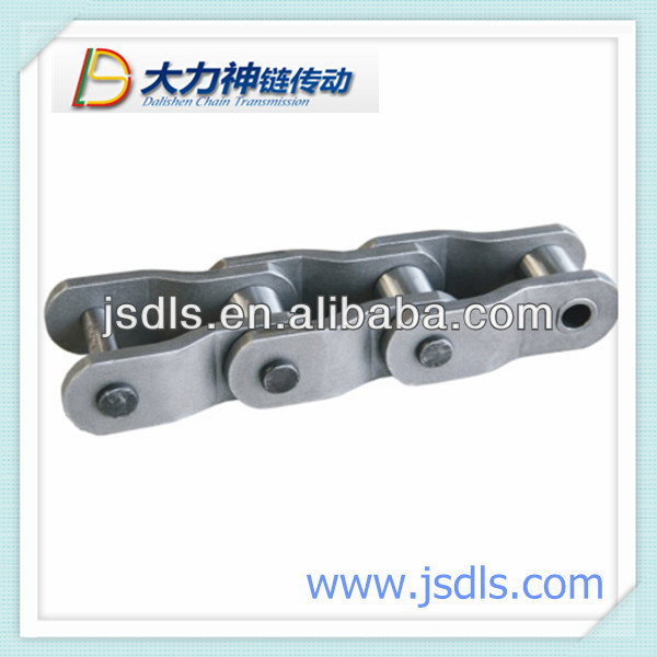 over loaded curved plate roller chain
