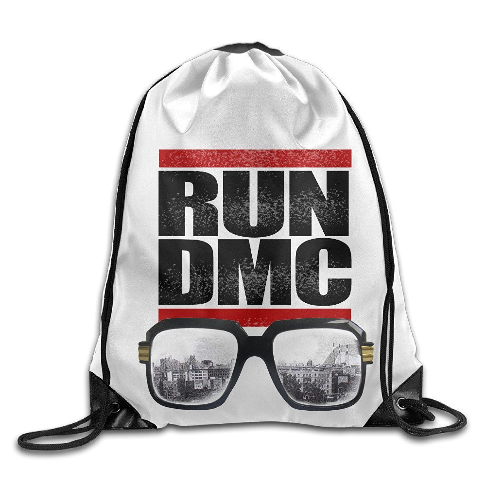 4740c019f5 Get Quotations · Run Dmc Glasses Cityscape Unisex Drawstring Sport Backpack