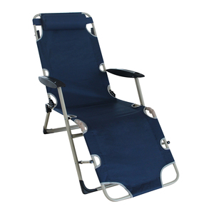 Sailing Leisure Breathable Reclining Beach Chair Folding Camping Bed Relax Lazy Lounge Chair