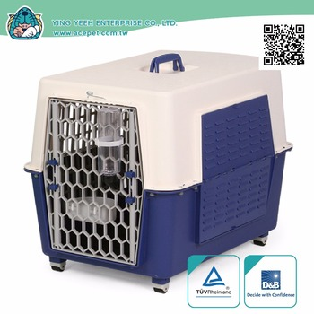 high qual new premium Shutters four wheels Pet Transport Box Small Animals Travel carrier cage