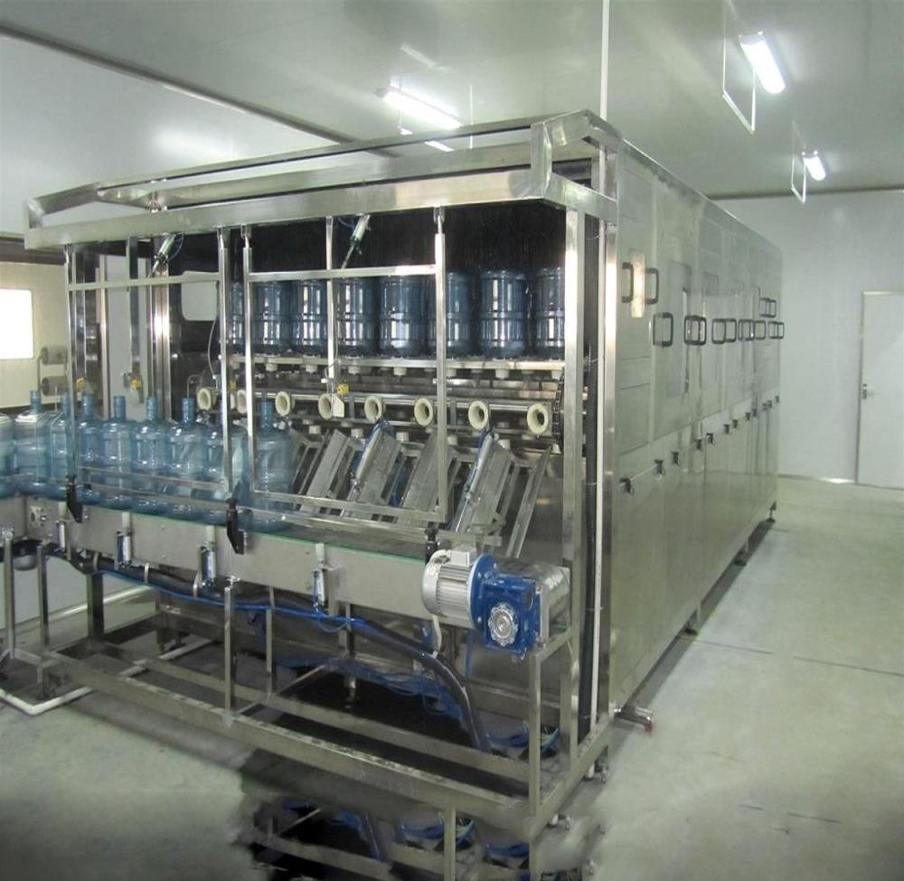 19L, 20 Liter, 5 Gallon Bottle/ Jar/ Barrel Drinking Pure Water Mineral Water Filling Machine/Monoblock/ Production Line