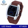 2016 New design good quality unusual gifts led automatic wrist watches man