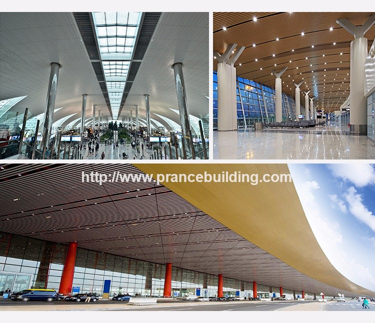 cheap Aluminum suspended ceiling tiles