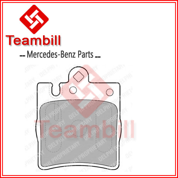 car parts break pad for mercedes bens w210 brake pad E200 Kompressor 4-matic 002 420 52 20