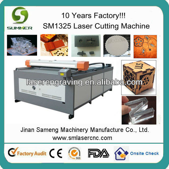 large size laser galss cutter with high quality SM-1325