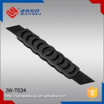 JW-T034 New design flat plastic webbing injection handle for carton box