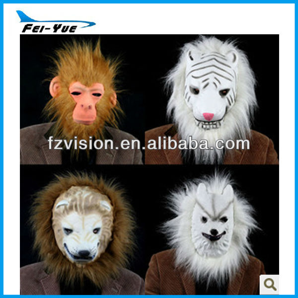 China Manufacture Carnival party Cosplay Cheap kids EVA Animal 3D mask