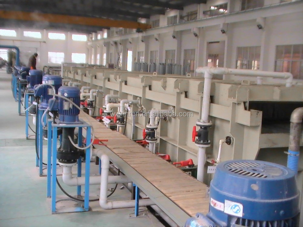 Steel wire Surface pickling and phosphating (boronizing) line for low carbon
