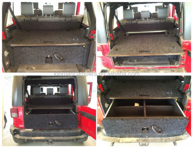 JK wrangler 4WD Storage Drawer