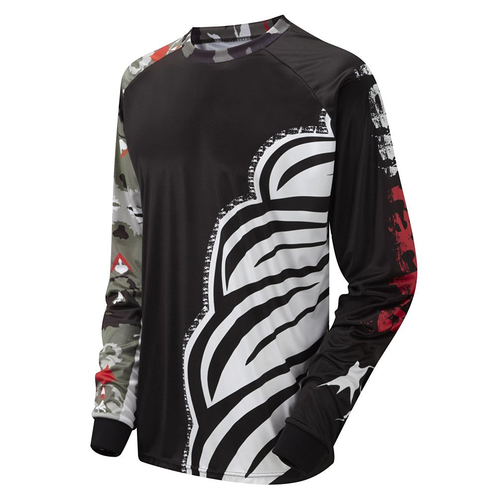 Tenn Mens Burn MTB/Downhill Cycling Jersey