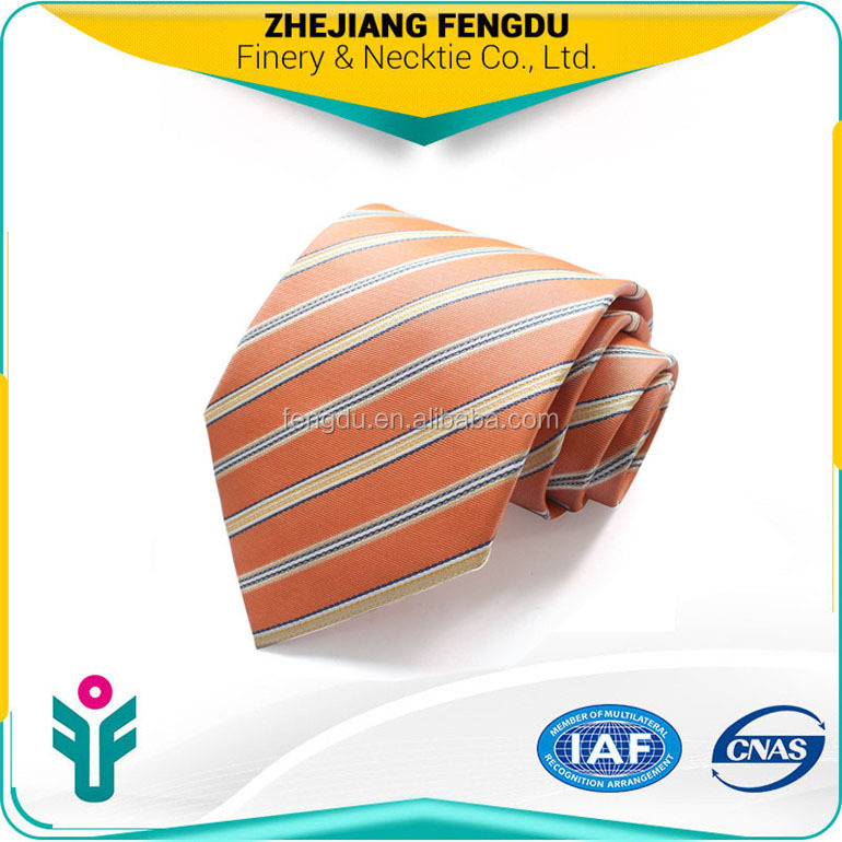 orange striped discount designer <strong>ties</strong>