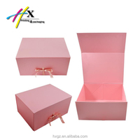 custom paperboard box book shape large capacity packaging dress gift for wife