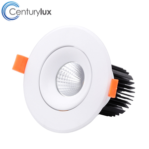 Hot sale products Triac 0-10V DALI dimmable deep recessed led downlight 12w for hair salon salon