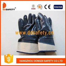 DDSAFETY Hot Sell Delicate CottonJersey Lined Nitrile Coated Glove